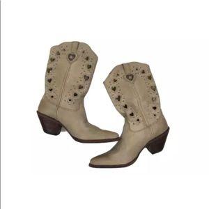 Durango women's heartfelt crush cowboy boots 8.5